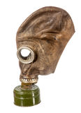 Old used gas mask Stock Images