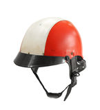 Old used helmet Stock Image