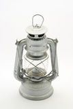 Old used lantern. Used lantern on white background stock photography