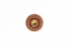 Old used 9mm pistol empty cartridg Royalty Free Stock Photos