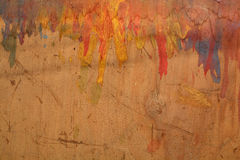 Old used painted plywood background Royalty Free Stock Photos