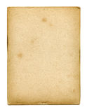 Old used paper texture. Isolated on white Stock Photos