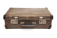 Old Used Suitcase Royalty Free Stock Photos