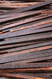 Old used timber planks Royalty Free Stock Image