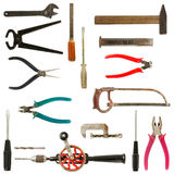Old used tools collection 2 Royalty Free Stock Photography