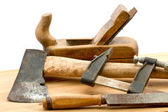 Old used tools Stock Photography