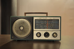 Old Used Transistor Radio Stock Photography