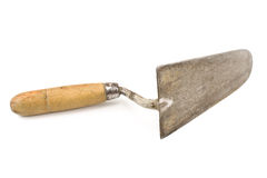 Old used trowel  Royalty Free Stock Photography