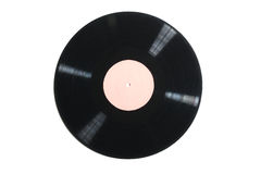 Old used vinyl record Stock Photo