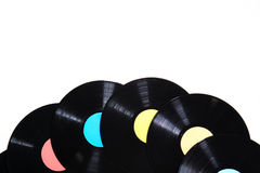 Old used vinyl record Royalty Free Stock Images