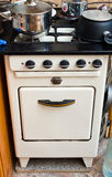 Old but useful gas stove Royalty Free Stock Image