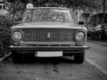 Old USSR car Royalty Free Stock Images
