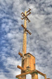 Old utility pole Royalty Free Stock Photo