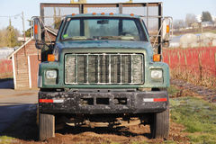 Old Utility Truck. An old utility truck is used on a farm for agricultural purposes Stock Images