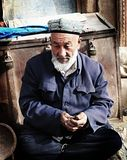 Old Uyghur Man Royalty Free Stock Image