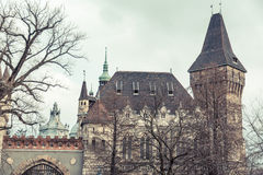 Vajdahunyad Castle in Budapest Royalty Free Stock Photo