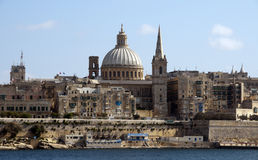 Old valetta city Royalty Free Stock Image