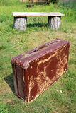 Old valise Royalty Free Stock Image
