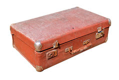 Old valise Stock Image