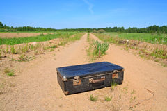 Old valise Royalty Free Stock Photo