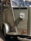 Old van. Classic Citroen van front Stock Photography