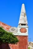 Old venetian architecture in Corfu Town citadel Stock Image