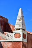 Old venetian architecture in Corfu Town citadel Royalty Free Stock Photography