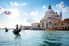 Old venetian cathedral Stock Photos