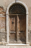 The old The Venetian door Stock Photo