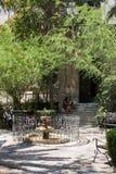 The old Venetian fountain in Crete. Stock Photos