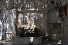 The old Venetian fountain in Crete. Stock Images