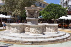 The old Venetian fountain in Crete. Royalty Free Stock Photography