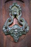 Old Venetian gilded door handle in Venice Royalty Free Stock Image