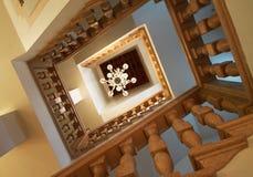 Old venetian glass chandelier Stock Photography