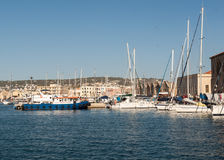 Old Venetian harbour in Chania. Crete Royalty Free Stock Image