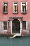 An Old Venetian Hotel Stock Photo