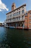 Old Venetian Palace gondola Canal Grande, Venice, Italy royalty free stock photography