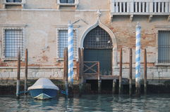 Old Venetian Palazzo Stock Photo