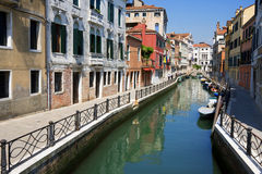 Old Venetian streets. Royalty Free Stock Image
