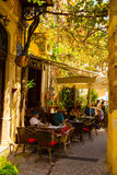 Old venetian town Chania at Crete Stock Image