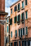 Old Venetian Walls. Italy Royalty Free Stock Photo