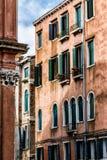 Old Venetian Walls. Italy. Detail of old venetian walls Royalty Free Stock Photo