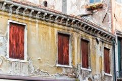 Old Venetian Walls. Itay. Detail of old venetian walls Royalty Free Stock Image