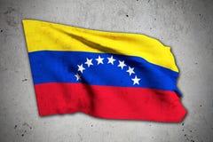 Old Venezuela flag Royalty Free Stock Image