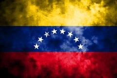Old Venezuela grunge background flag royalty free illustration