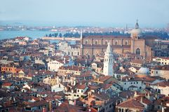 Old Venice cityscape, Italy stock photography