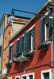 Old Venice houses,Italy Royalty Free Stock Photography