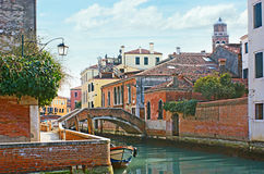 The old Venice Stock Photography
