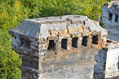 Old ventilation duct Royalty Free Stock Photos