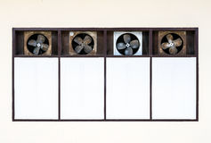Old ventilation fan Royalty Free Stock Photography